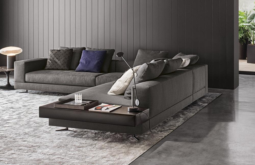 Sofa White Of Minotti Bergers Interieurs Bergers