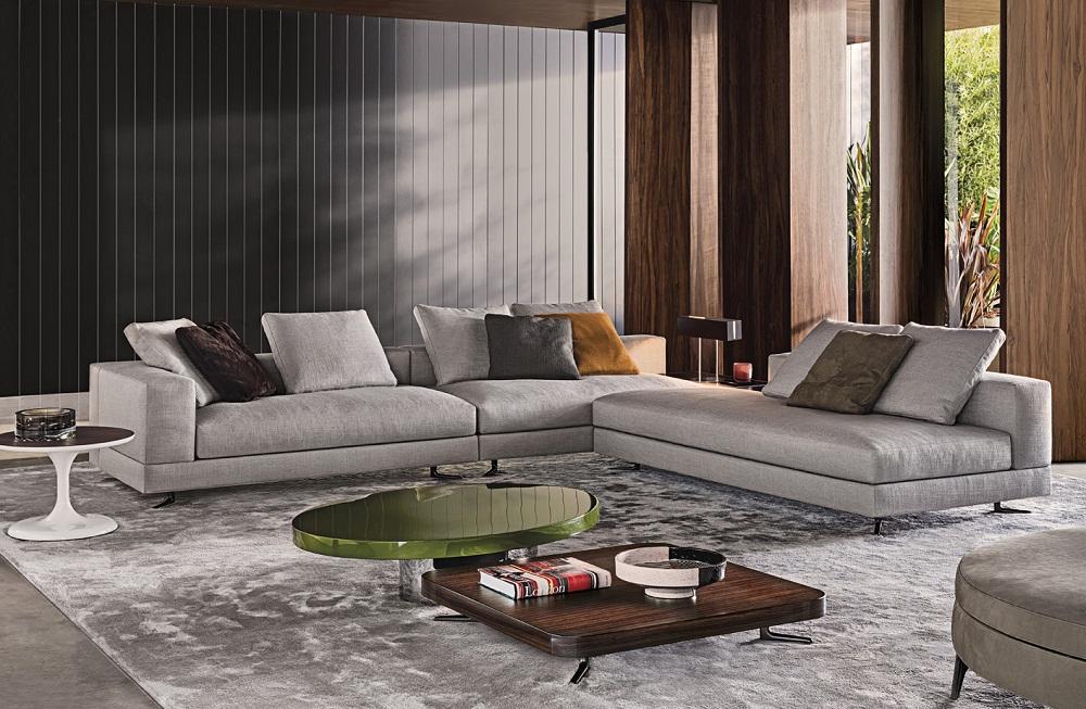 Sofa White Of Minotti Bergers Interieurs Bergers Interieurs