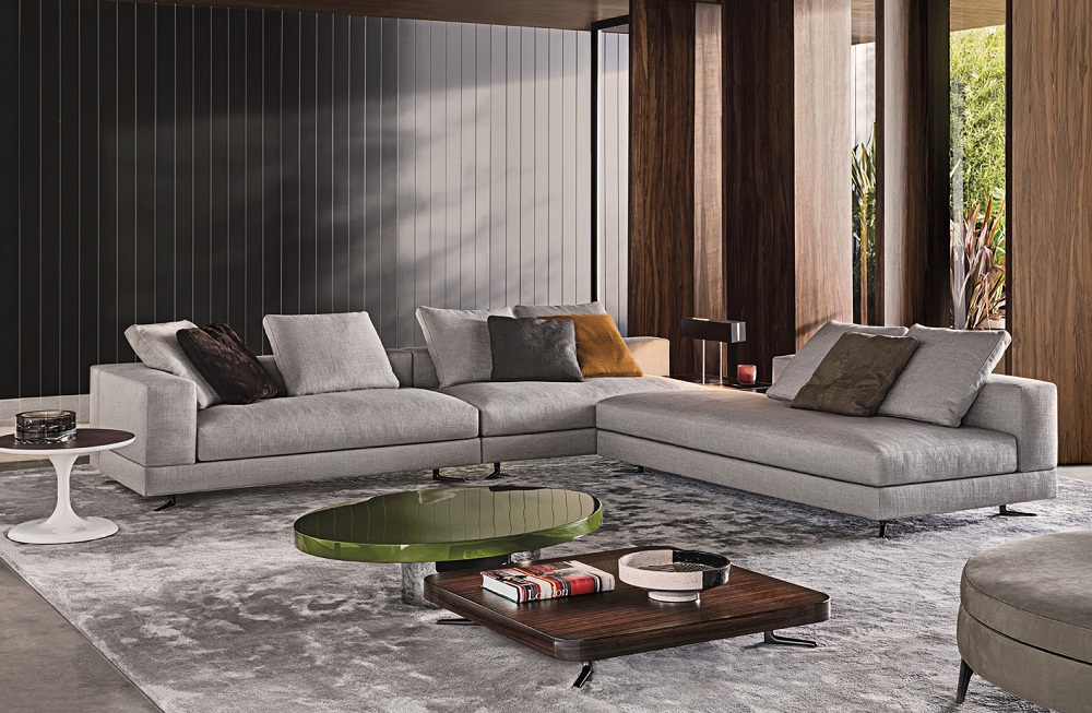 Design Bank Minotti.Sofa White Of Minotti Bergers Interieurs Bergers Interieurs