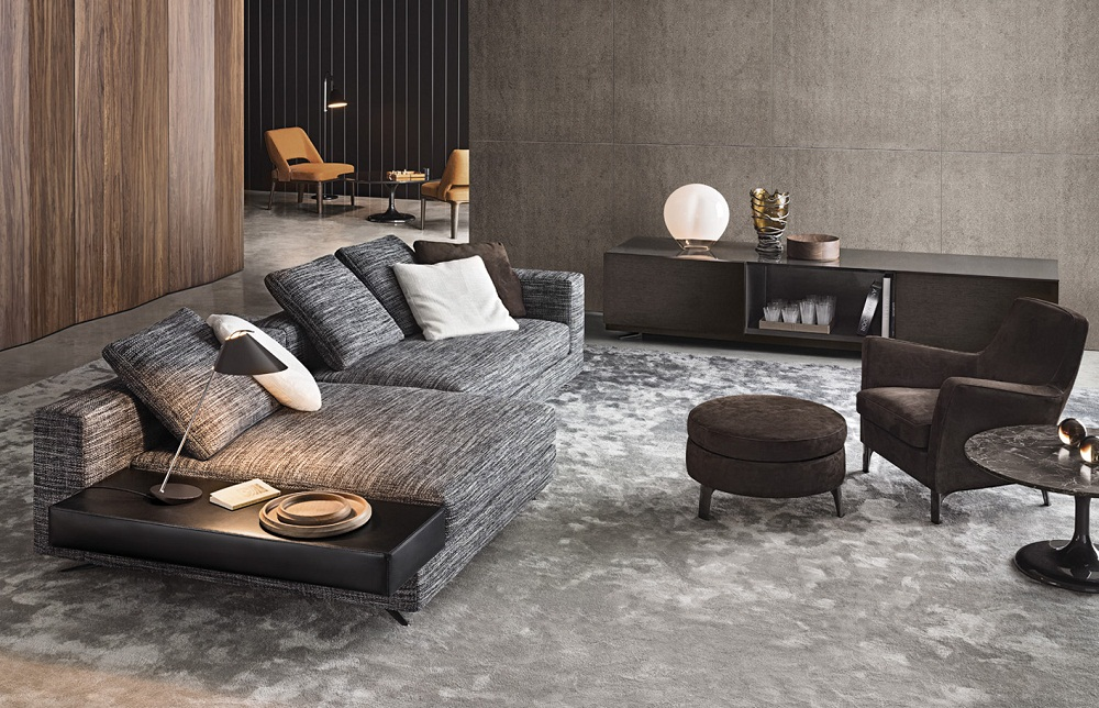 Bank white van minotti bergers interieurs bergers for Minotti outlet italy
