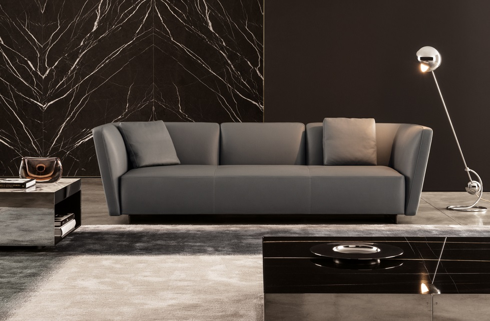 new sofa seymour of minotti bergers interieurs
