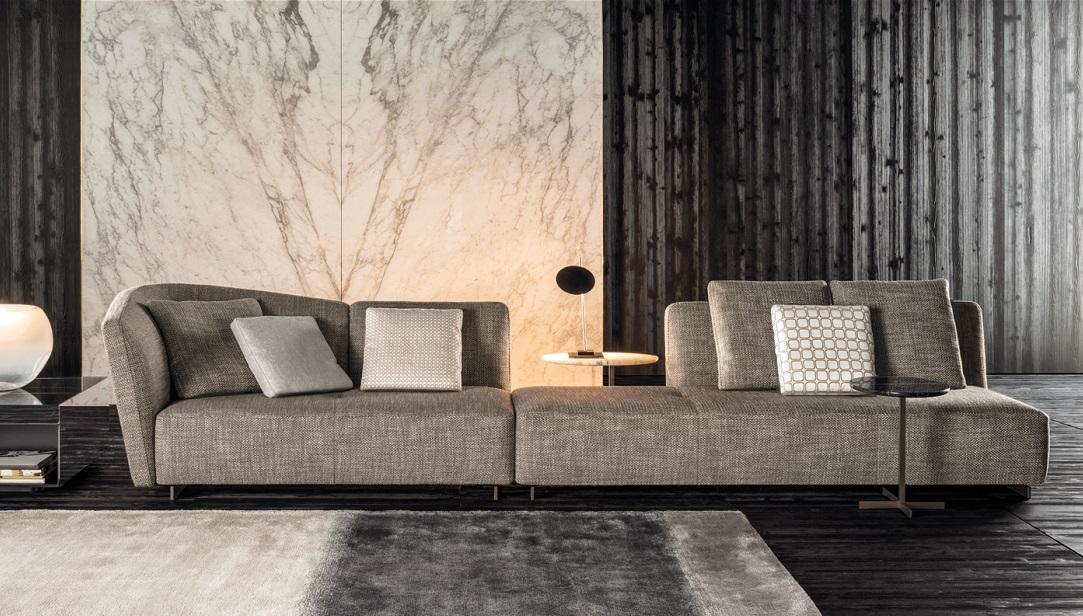 New Sofa Seymour Of Minotti Bergers Interieurs