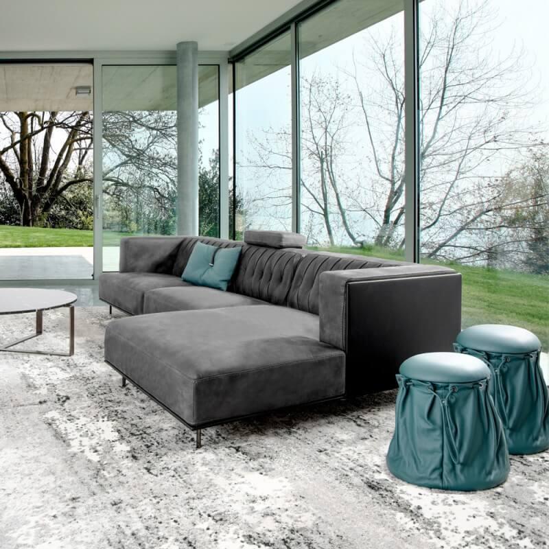 Italiaanse Design Leren Bank.Italiaanse Design Leren Bank